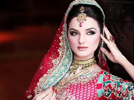 Indian Style Bridal Makeup